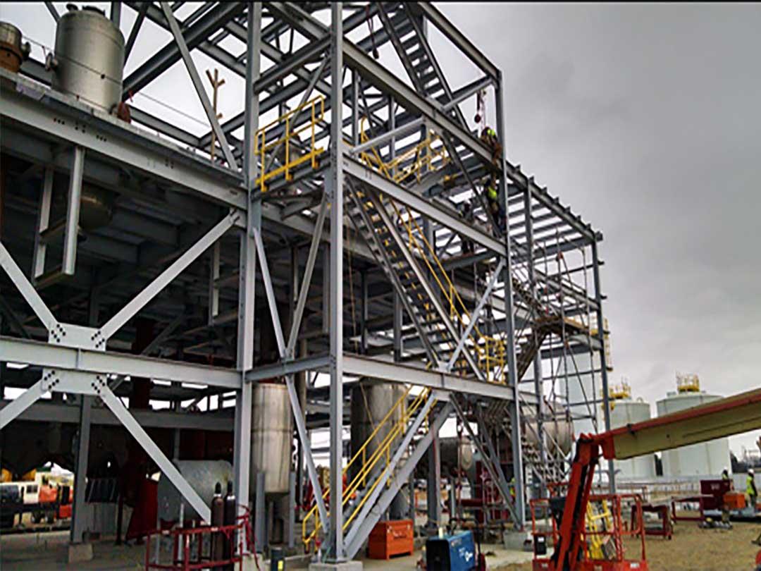 heavy duty fabrication work